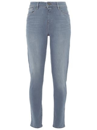 White Stuff Regular Willow Skinny Jeans, Grey Blue