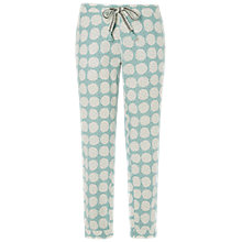 Buy White Stuff Crazy About Spots Pyjama Bottoms, Pepper Green Online at johnlewis.com