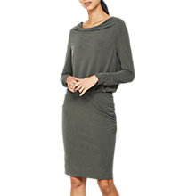 Buy Mint Velvet Ruched Jersey Dress Online at johnlewis.com