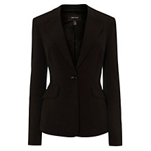 Buy Karen Millen Soft Tailored Jacket, Black Online at johnlewis.com