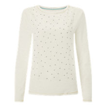 Buy White Stuff Snoozy Spot Top, Calm Cream Online at johnlewis.com