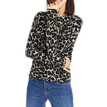 Buy Oasis Animal Perfect Crew Jumper, Multi Online at johnlewis.com