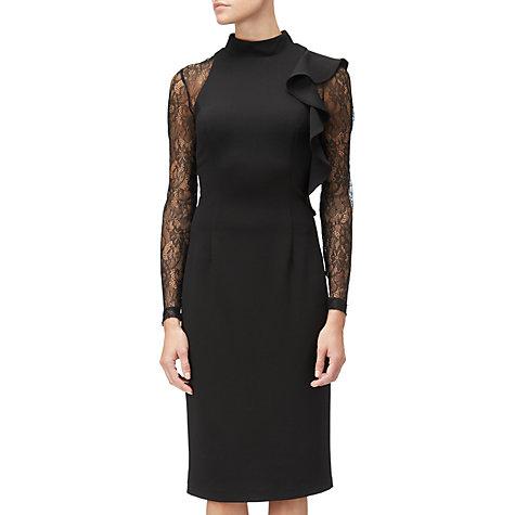 Adrianna lace sheath dress