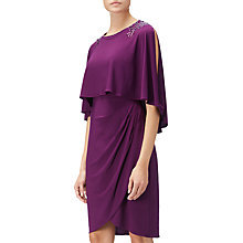 Buy Adrianna Papell Matte Jersey Sheath Dress, Beetroot Online at johnlewis.com