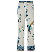 Buy White Stuff Chinoiserie Bird Pyjama Bottoms, Calm Cream Online at johnlewis.com