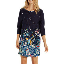Buy White Stuff Chinoiserie Bird Print Nightdress, Snoozy Navy Online at johnlewis.com
