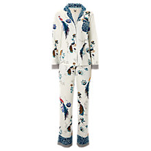 Buy White Stuff Chinoiserie Birds Pyjama Set, Calm Cream Online at johnlewis.com