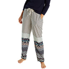 Buy White Stuff Pretty Peacock Pyjama Bottoms, Pepper Green Online at johnlewis.com