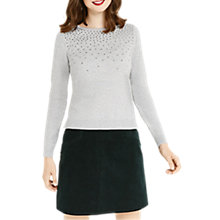 Buy Oasis Studded Jumper Online at johnlewis.com