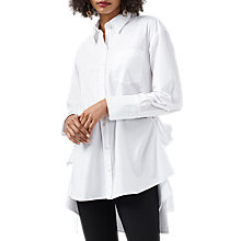 Buy Finery Lewis Tie Detail Shirt, Ivory Online at johnlewis.com