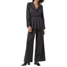 Buy Finery Cardington Pinstripe Jacket, Black/White Online at johnlewis.com