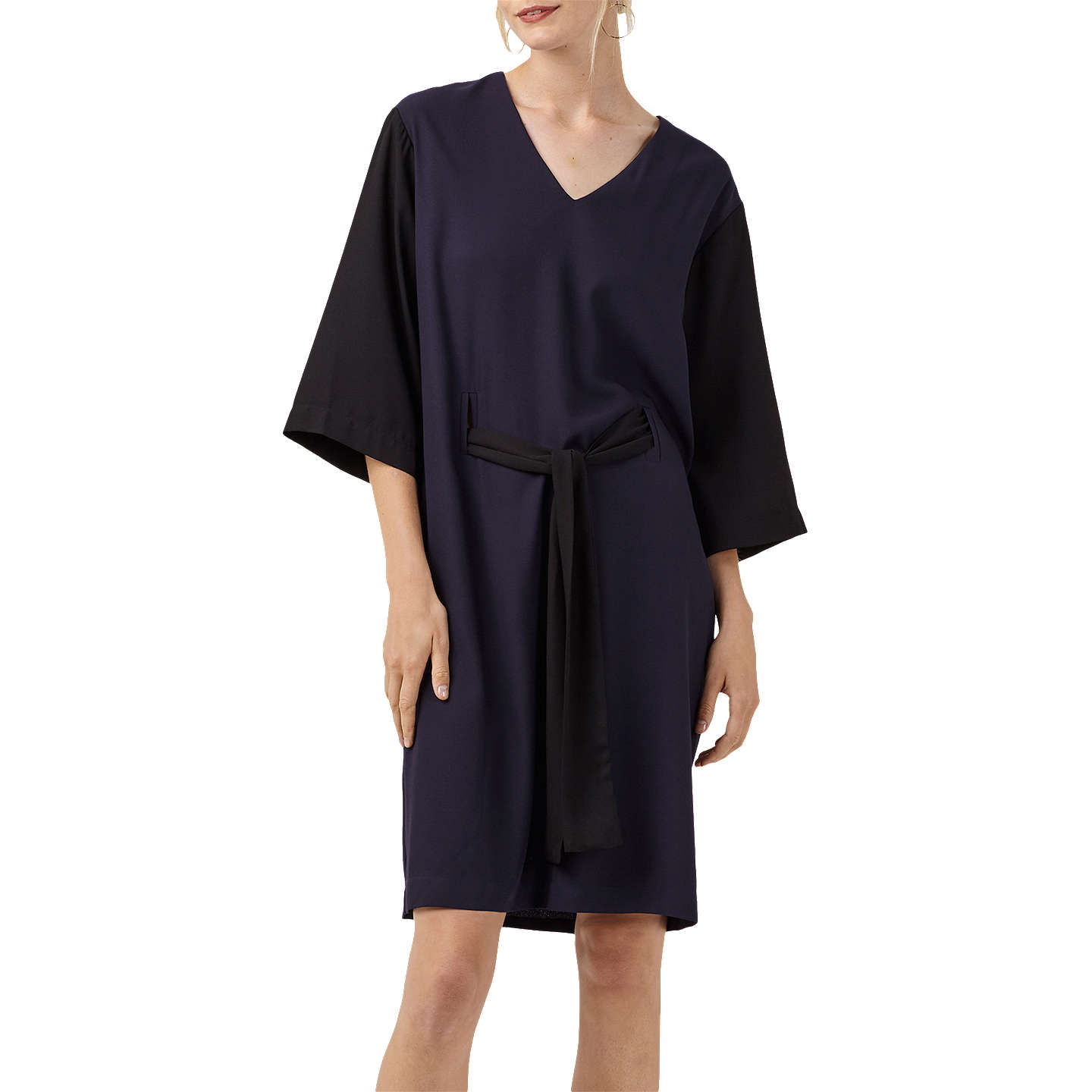 Popham Navy and Black Dress Finery Buy Cheap Comfortable zmSxoW3nSL