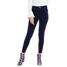 Buy Oasis Cord Jeans, Navy Online at johnlewis.com