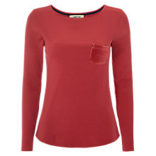 Buy White Stuff Nightsky Ribbed Cotton Long Sleeve T-Shirt Online at johnlewis.com