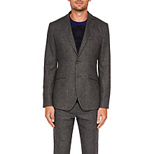 Buy Ted Baker Insane Wool Blazer, Charcoal Online at johnlewis.com