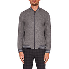 Buy Ted Baker Freddy Wool Bomber Jacket Online at johnlewis.com