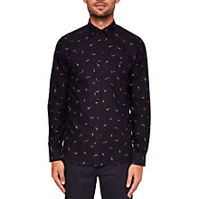 Buy Ted Baker Poisson Fish Print Long Sleeve Shirt Online at johnlewis.com