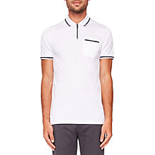 Buy Ted Baker Horley Zipped Polo Shirt Online at johnlewis.com