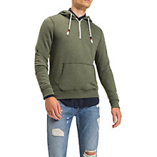 Buy Tommy Jeans Basic Half Zip Long Sleeve Sweatshirt Online at johnlewis.com