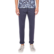 Buy Ted Baker Newprin Slim Fit Chinos, Mid Blue Online at johnlewis.com
