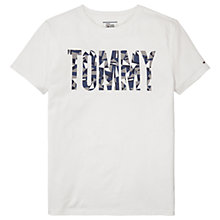 Buy Tommy Jeans Logo Crew Neck T-Shirt Online at johnlewis.com