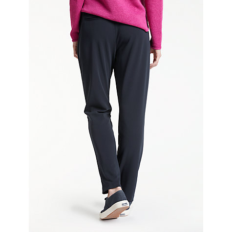 Buy Gerry Weber Drawstring Trousers, Navy Online at johnlewis.com