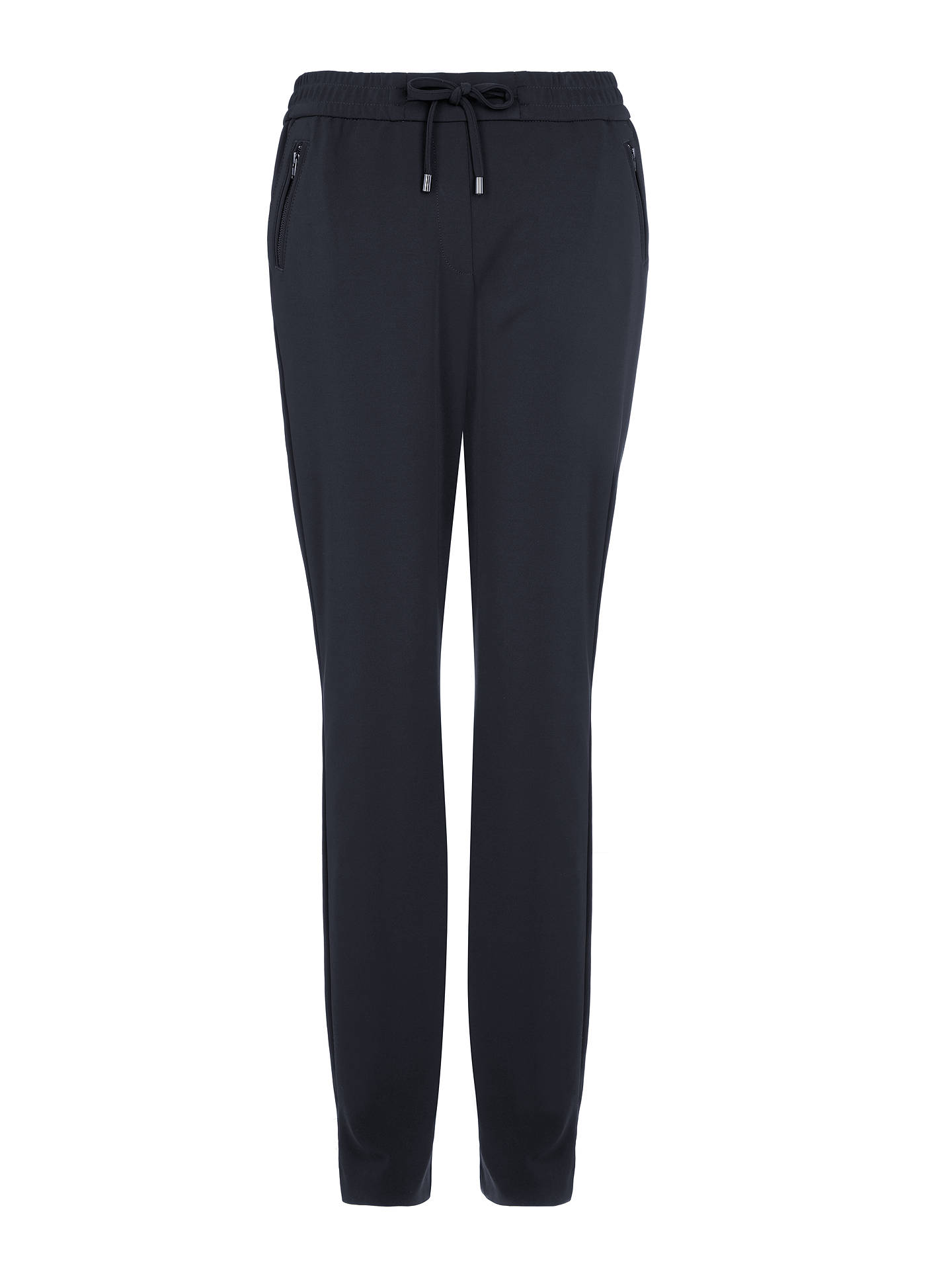 BuyGerry Weber Drawstring Trousers, Navy, 10 Online at johnlewis.com