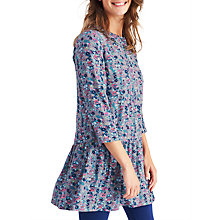 Buy Joules Bette Woven Tunic Dress, Grey Online at johnlewis.com