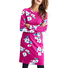 Buy Joules Daylia Printed Jersey Dress, Ruby Poppy Online at johnlewis.com