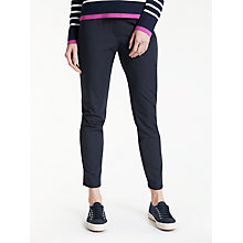 Buy Gerry Weber Slim Leg 7/8 Trousers, Navy Online at johnlewis.com
