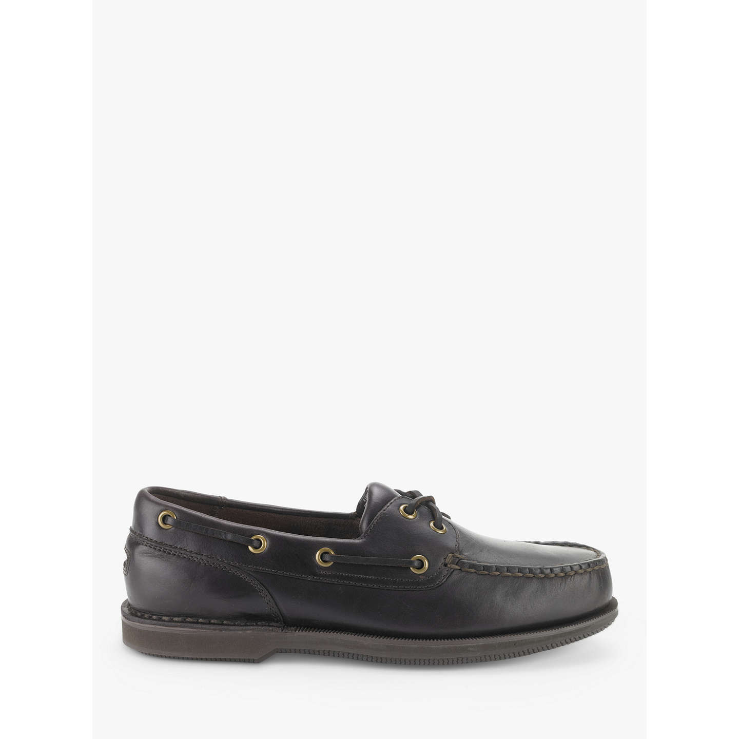BuyRockport Perth Boat Shoe, Dark Brown, 7 Online at johnlewis.com ...