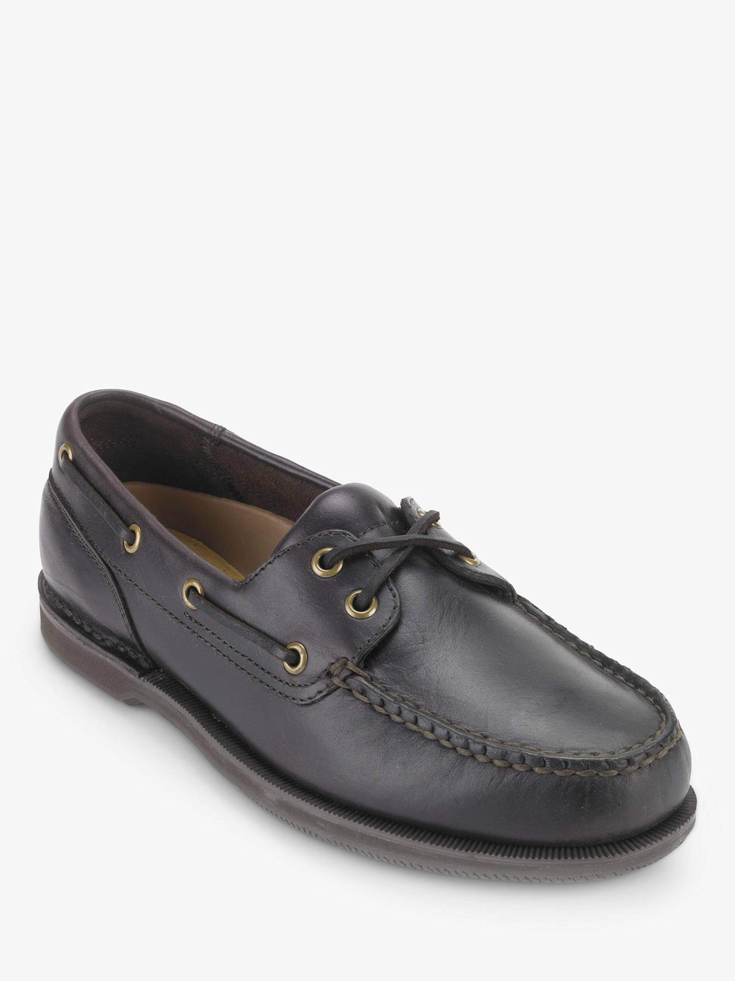 BuyRockport Perth Boat Shoe, Dark Brown, 8 Online at johnlewis.com