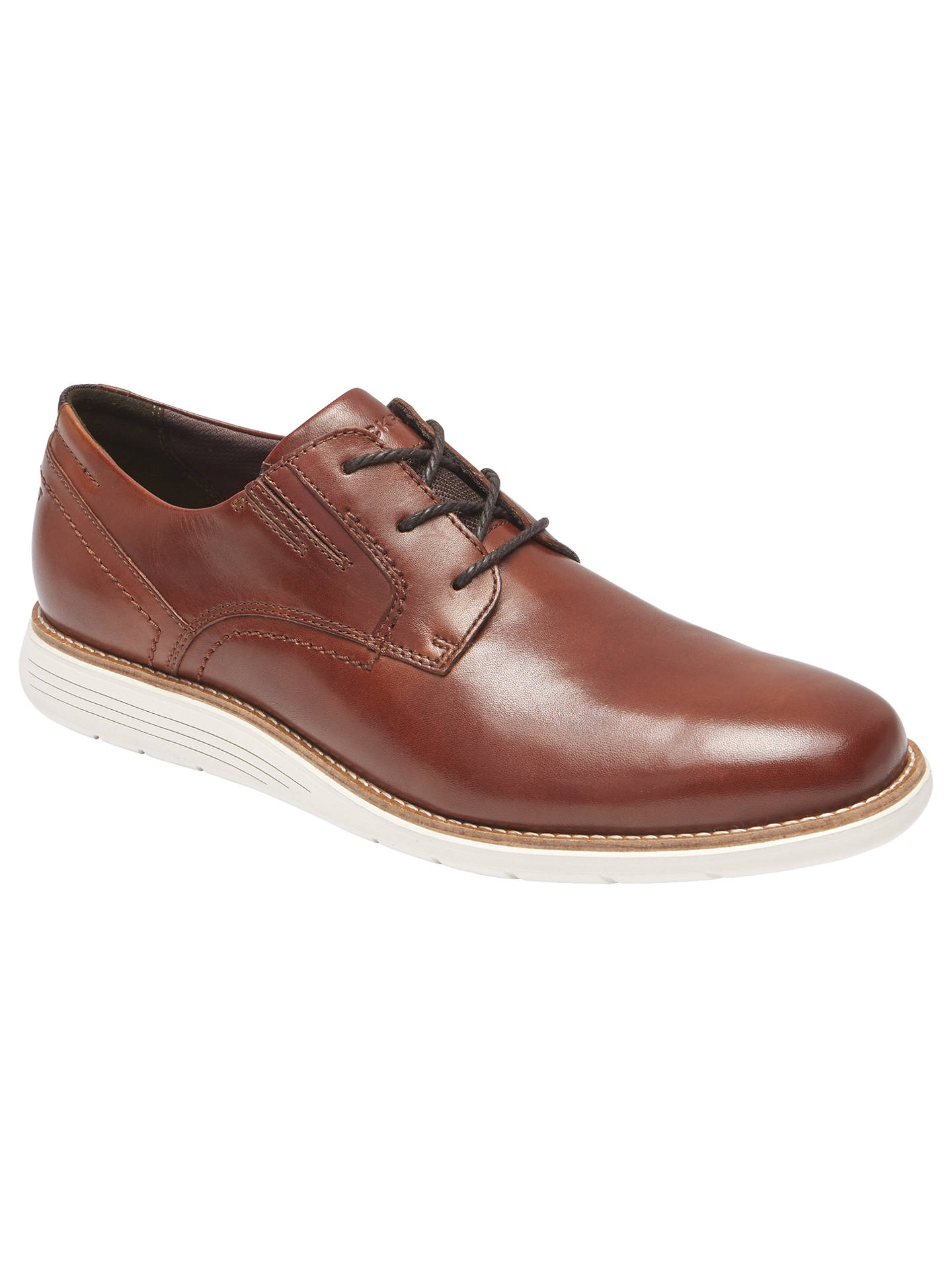Buy Rockport Total Motion Sports Casual Oxford Shoes, Tan, 7 Online at johnlewis.com