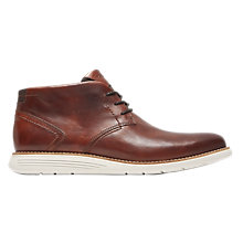 Buy Rockport Total Motion Sports Chukka Boot, Tan Online at johnlewis.com