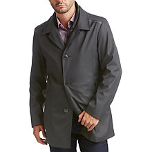 Buy HUGO by Hugo Boss Barelto Coat, Grey Online at johnlewis.com