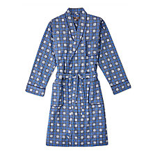 Buy Otis Batterbee Square Cravat Robe, Blue Online at johnlewis.com