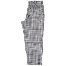 Buy Otis Batterbee Prince of Wales Check Cotton Pyjama Bottoms, Grey Online at johnlewis.com