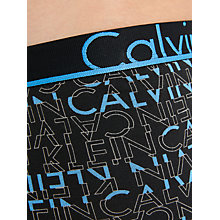 Buy Calvin Klein ID Logo Trunks, Black Online at johnlewis.com