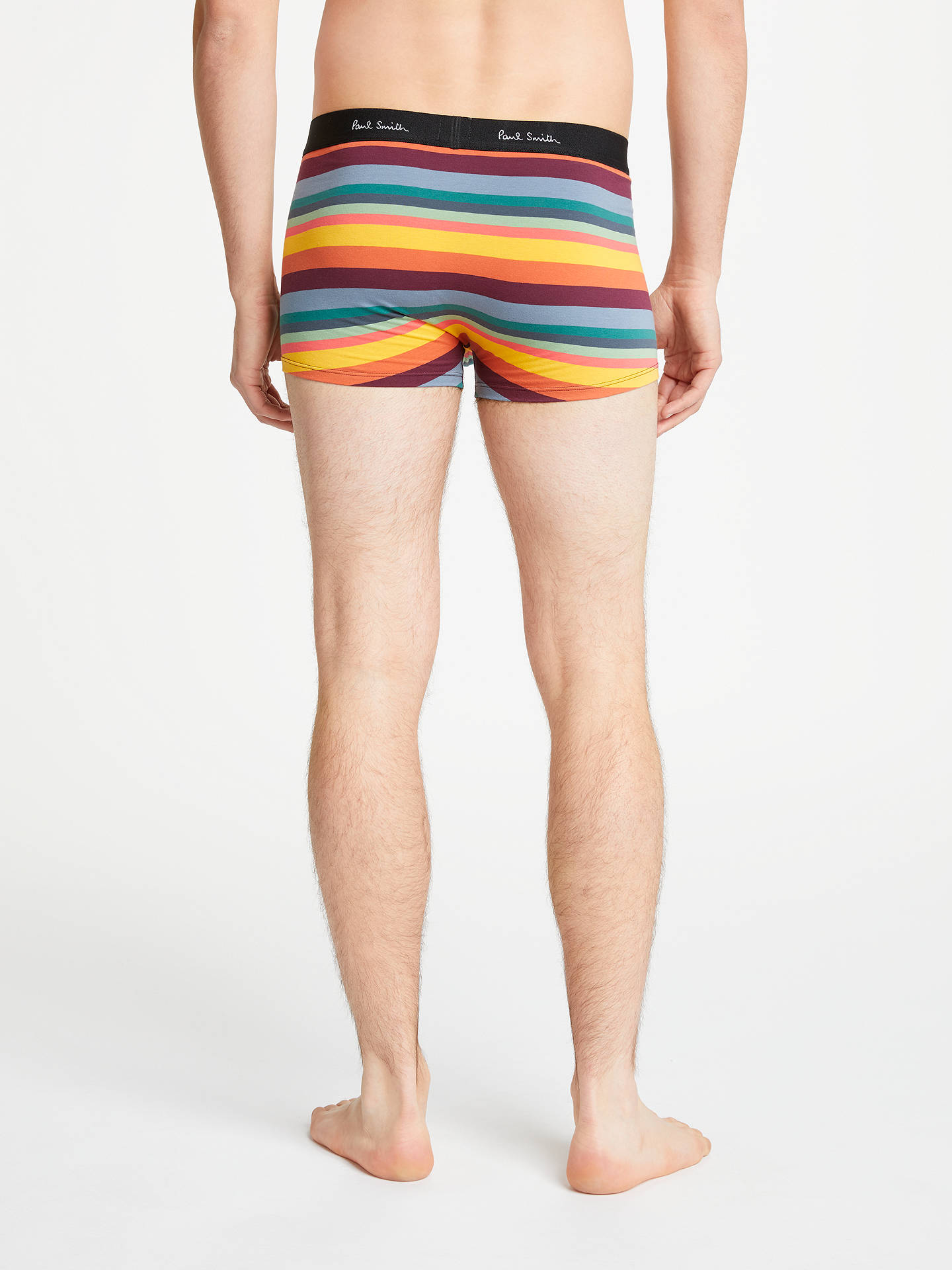 Buy Paul Smith Signature Stripe Low Rise Trunks, Pink, S Online at johnlewis.com