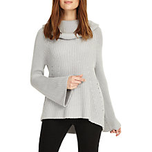 Buy Phase Eight Cateline Cowl Swing Knit Jumper, Soft Grey Online at johnlewis.com