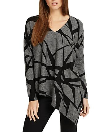 40dad3685d9a3 Phase Eight Selene Print Knit Jumper