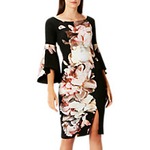 Buy Coast Arles Scuba Floral Print Shift Dress, Multi Online at johnlewis.com