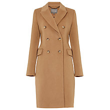 Buy Phase Eight Caterina Crombie Coat, Neutral Online at johnlewis.com