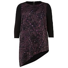 Buy Studio 8 Saige Tunic Top, Black/Purple Online at johnlewis.com