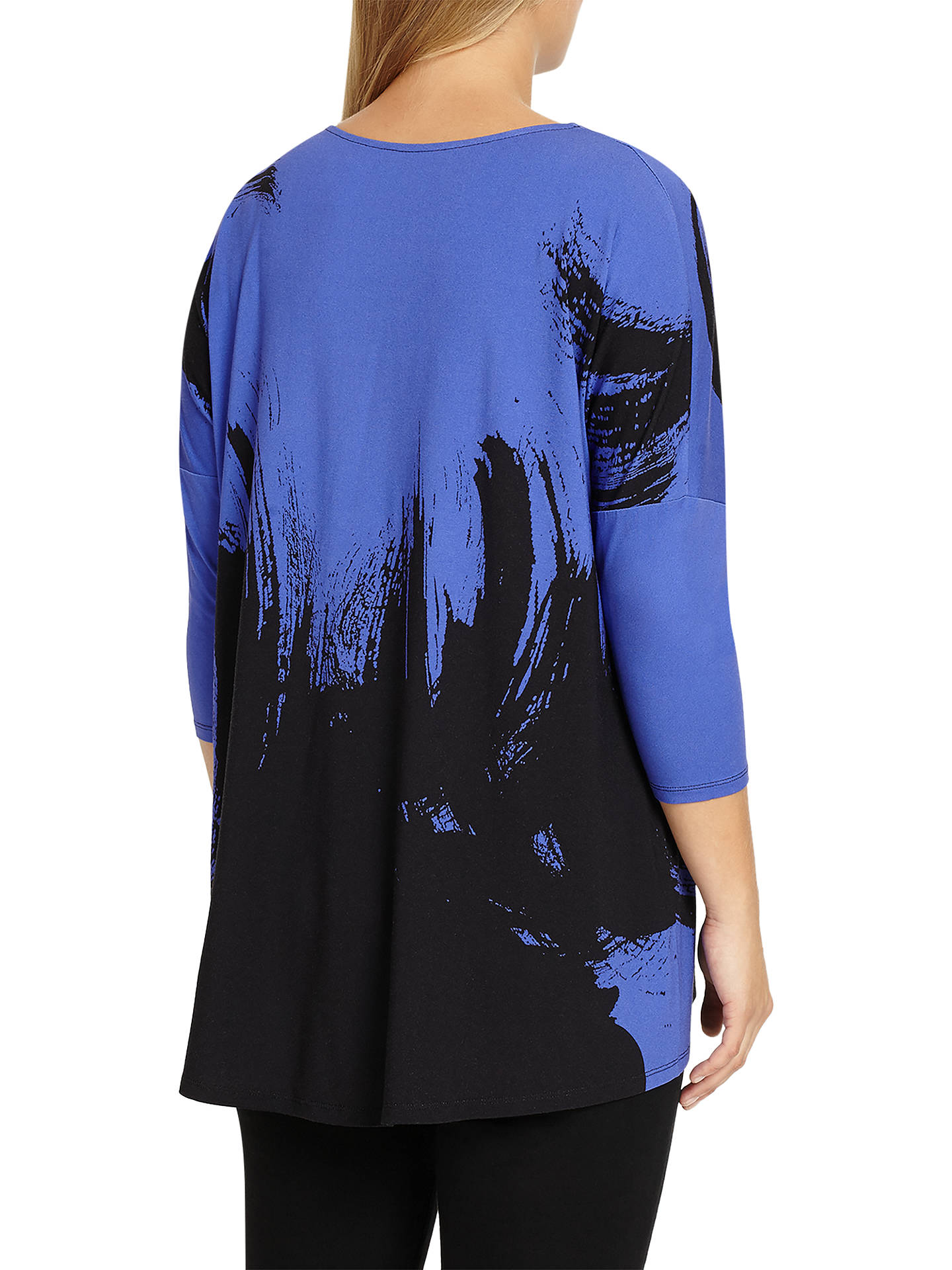 Buy Studio 8 Romy Abstract Top, Blue/Black, 12 Online at johnlewis.com