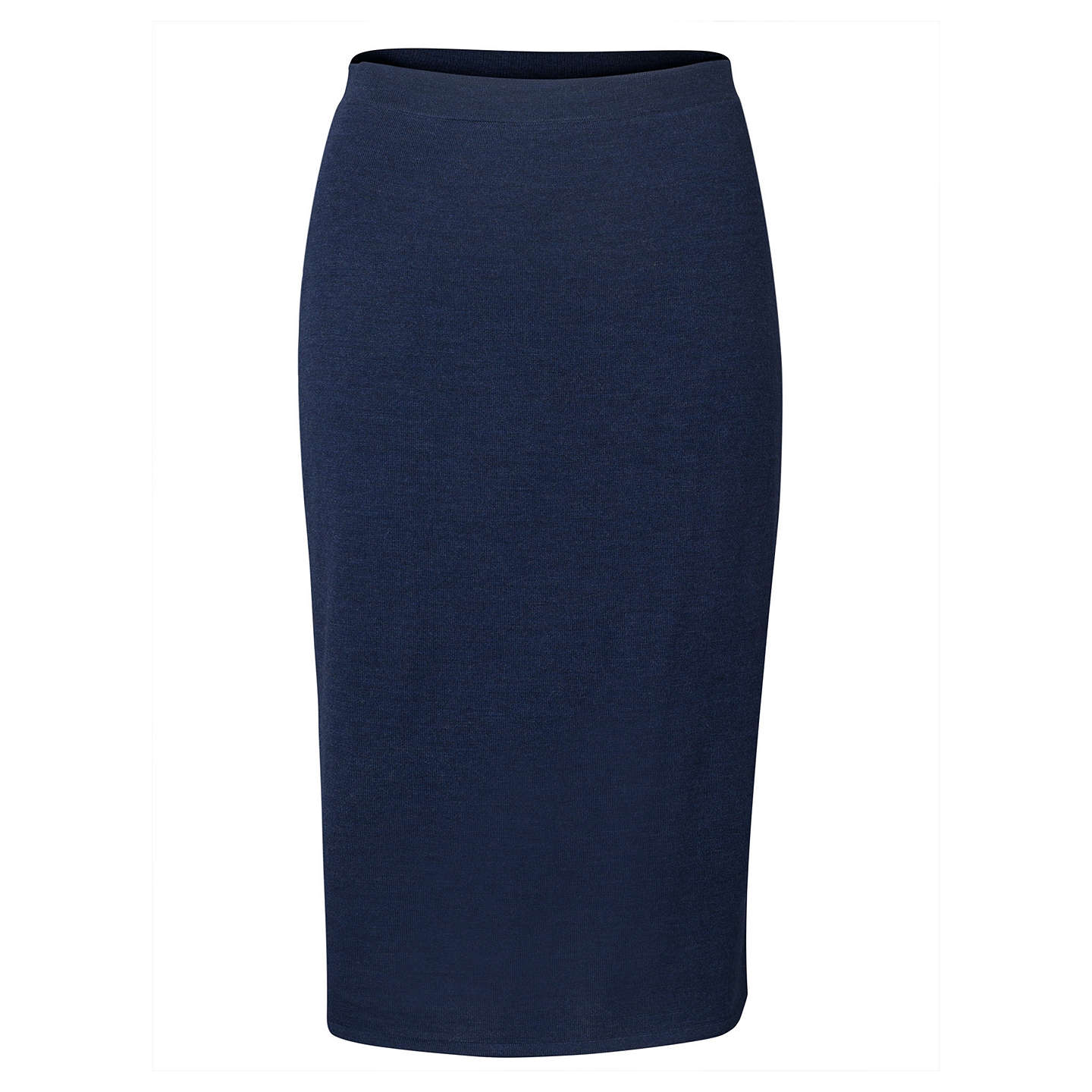 BuyEast Merino Knit Pencil Skirt, Ink, S Online at johnlewis.com