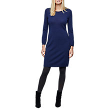 Buy East Merino Wool Scoop Dress, Ink Online at johnlewis.com