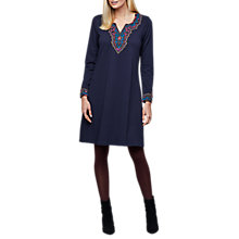Buy East Ponte Embroidery Dress Online at johnlewis.com
