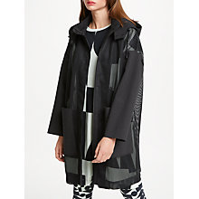 Buy PATTERNITY + John Lewis Airtex Shell Jacket, Black Online at johnlewis.com