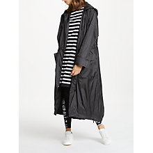 Buy PATTERNITY + John Lewis Longline Parka, Black Online at johnlewis.com